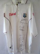2010 Squad Signed West Indies Cricket Shirt COA /13292