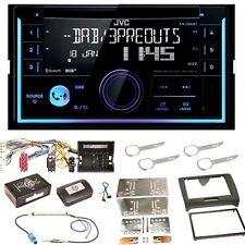 JVC KW-DB93BT USB MP3 Bluetooth CD DAB+ WMA Einbauset für Audi TT 8J