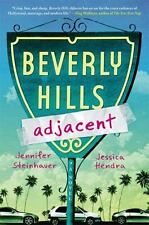 Beverly Hills Adjacent Steinhauer, Jennifer Hardcover Book New