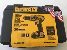 DeWalt DCD785C2 20V MAX Lithium Ion Compact Hammerdrill/Driver Kit