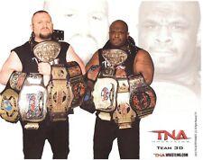 Team 3D Dudley Boyz Bubba Ray D-Von 2010 TNA Promo 8x10 Photo WWE Pro Wrestling
