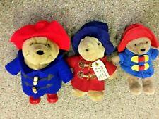 "3 Paddington Bears 11"" Augusta Du Bay 10"" Darkest Peru 9"" My First Rainbow"