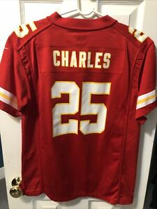 Jamaal Charles Kansas City Chiefs Red Nike Youth Jersey Size XL