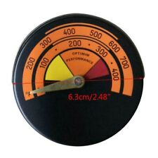 Stove Pipe Temperature Gauge Flue Pipe Magnetic Thermometer For Wood Burners