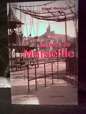 Busquet.  HISTOIRE DE MARSEILLE.  ( Bouches-du-Rhône. Provence )  Monographie