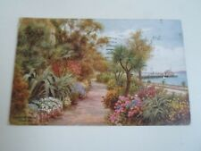 A R QUINTON Postcard 1667 The Rock Walk, Torquay, Franked+Stamped 1950 §A2386