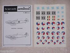 DECALS AERODECAL 1/72ème NATIONAL INSIGNIAS ref. 16 A
