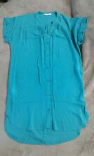 Robe Tunique fluide vert canard promod taille36
