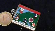 Fusball Nadel Badge Match LFC Liverpool FC Juve Benfica Wien Poznan 1984/85