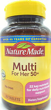 Nature Made Multi For Her 50+ 90 Tablets