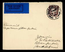 DR WHO 1929 IRELAND DUBLIN AIRMAIL TO SOUTH AFRICA  g38080