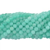 2Strang Grün Rund Synthetisch Amazonit Perlen Für Schmuck DIY 6mm hello-jewelry