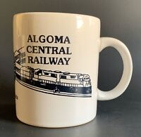 Vintage Algoma Central Railway - Ontario Canada Railroad Coffee Mug Cup