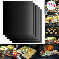 Non-stick BBQ Grill Mat Barbecue Baking Liners Reusable Cooking Sheets AU