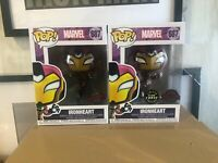 Marvel Ironheart Chase Set Limited Edition Funko Pop Vinyl