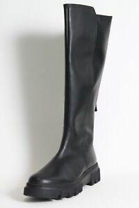 Gabor Stiefel schwarz Leder Best Fitting Wechselfußbett M-Vario komfort Damen
