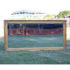 Wooden Mirror Large Gold Bevelled wall mirror & Frame Antique 150CM X 74CM