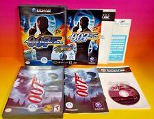 James Bond 007 Agent Under Fire + Everything Nintendo GameCube NGC Rare Complete