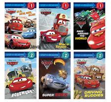STEP INTO READING Level 1-2 Disney Pixar Cars (pb) Roadwork,Buddies, + 6pk