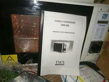Forno A Rifusione ventilato smd bga Oven Infrared Tws 800