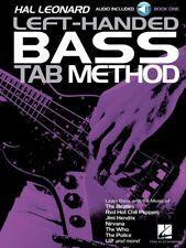Hal Leonard Left-Handed Bass Tab Method - Book 1 - Audio Access - Bass Book