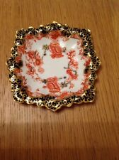 ROYAL CROWN DERBY 'Imari Pattern 2649' Unusual Shaped Pin Dish Excellent Antique