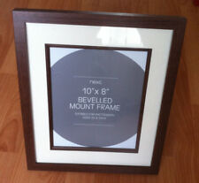 Large bevelled wood photo frame by NEXT picture poster print table desk gifts