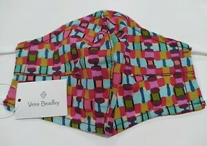 Vera Bradley Resort Woven cotton Face Mask With Filter Pocket New multicolor