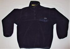 Patagonia Synchilla Snap T Fleece Pullover Jacket Purple Men's Medium