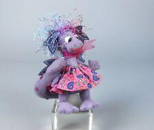 Deb Canham Kiss Me Purple Dragon Miniature Valentine