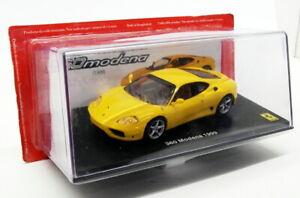 Altaya 1/43 Scale Diecast AT1219Y - Ferrari 360 Modena 1999 - Yellow