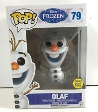 Pop Movies Figure Olaf #79 Disney Frozen Vinyl Figurine Glows In the Dark