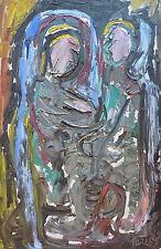 Pierre PERESS (1919-1990) HsP Maternité Années 60 / Fauvist / Fauvism / Fauviste