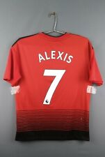 5/5 Alexis Sanchez Manchester United jersey youth 15-16 y shirt CG0048 ig93