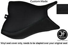 BLACK VINYL CUSTOM FOR HONDA CB 1000 R 08-13 FRONT RIDER SEAT COVER ONLY