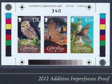 Gibraltar 2012 Birds numbered Proof-sheet Limited Edition ONLY 500 !!! MNH **