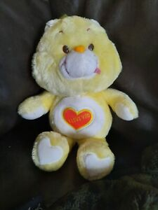 Rare HTF 1980s Vintage care bear I love you charity bear UK Exclusive Maverick