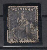 C2948/ BRITISH TRINIDAD – BRITANNIA – SG # 58 USED – CV 340 $