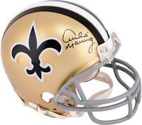 Archie Manning New Orleans Saints Signed Throwback Mini Helmet