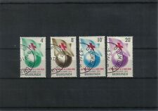 Burundi  1963 Red Cross Set of 4 Values  CTO Hinged  scan 894