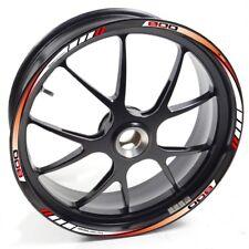 Auen Sticker Wheel Rim MV Agusta Turismo VELOCE 800 Red White Strip Tape Vinyl a