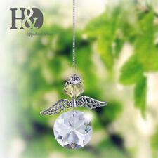 Suncatcher Angel Pendant Rainbow Crystal Prism Ornament 30mm Window Hanging Gift