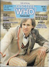 Doctor Who Official Magazine #90 -- July 1984 -- Fifth Doctor