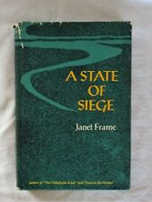 A State of Siege by Janet Frame - 1st print - 1966 - HC/DJ
