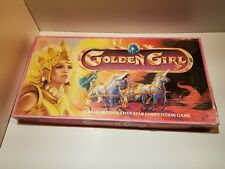 VTG 80s Golden Girl And The Guardians Of The Gemstones Board Game 100% COMPLETE