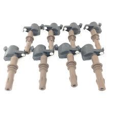 Genuine Ford Ignition Coils 4.6L 5.4L 3V Brown Boot Set of 8