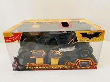 New In Box 2005 Batmobile Batman Begins Car Vehicle Mattel H1387