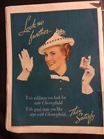10x13 Vintage 1937 CHESTERFIELD Cigarettes Liggett Tobacco RARE 1930's Print Ad