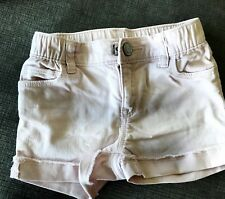 Baby gap pink girl jean shorts size 4