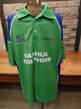 Nashua Dolphins Jersey Sunfoil South African Cricket Polo Shirt Size XL Nice!
